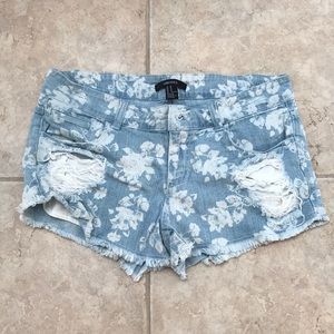 Forever 21 Jean Shorts Size M